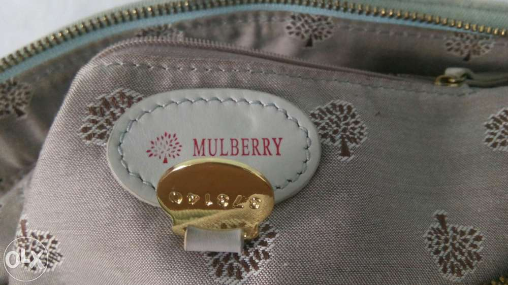 Mulberry Tillie denim bag fake serial number 373140