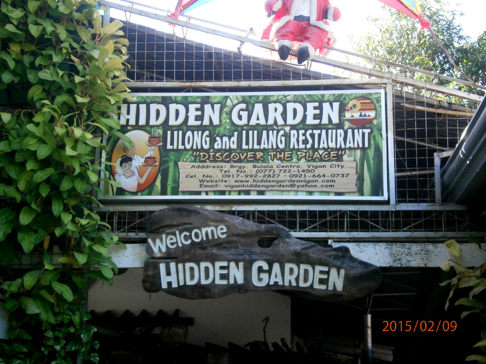 Hidden Garden in Vigan