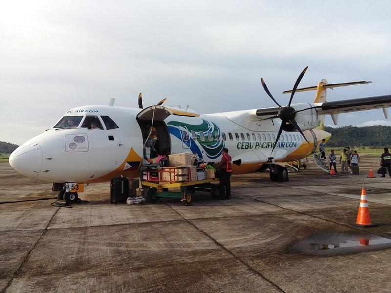 Cebu Pacific's Turbo Jet plane
