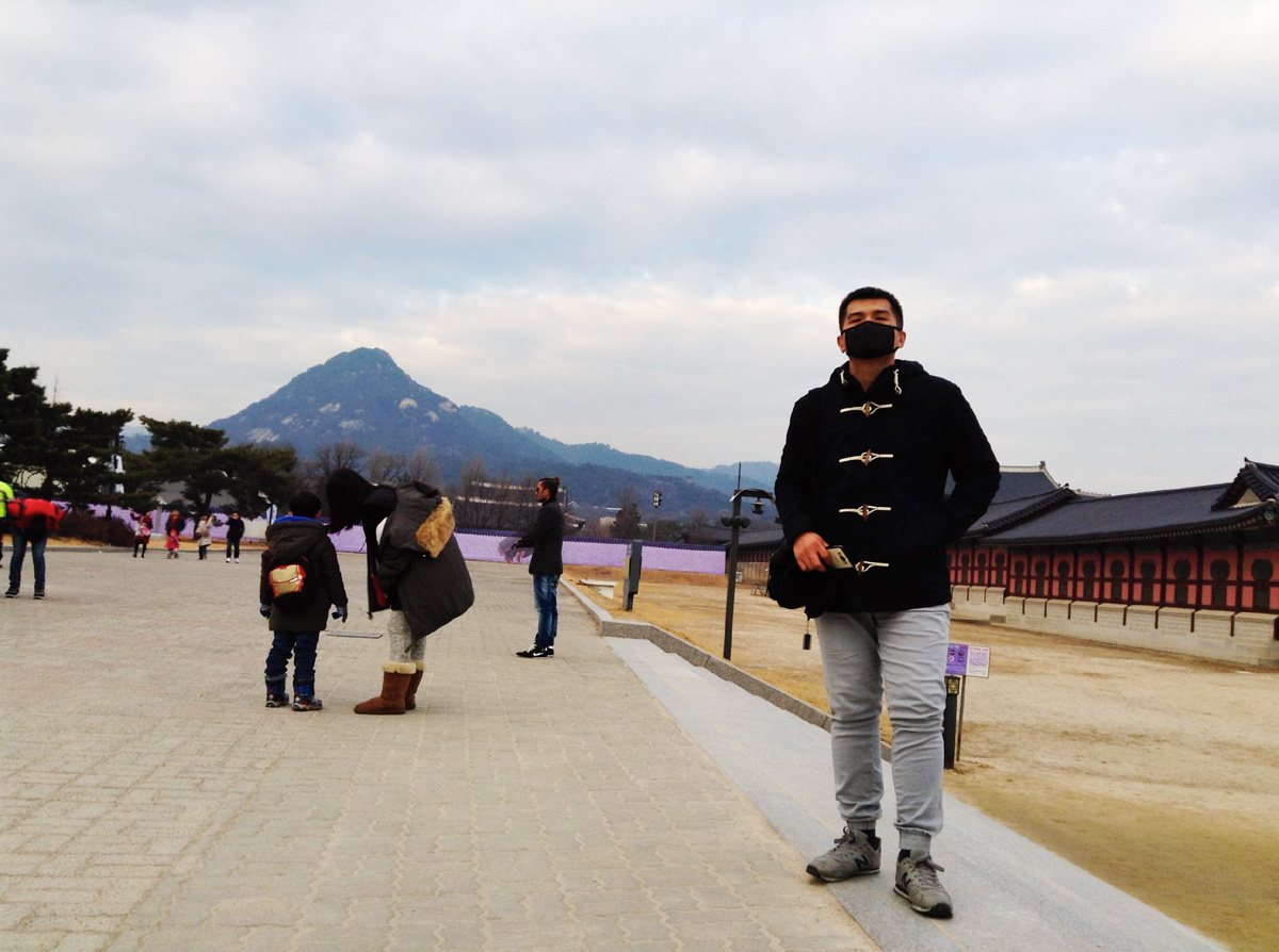 Ended up in Gyeongbokgung