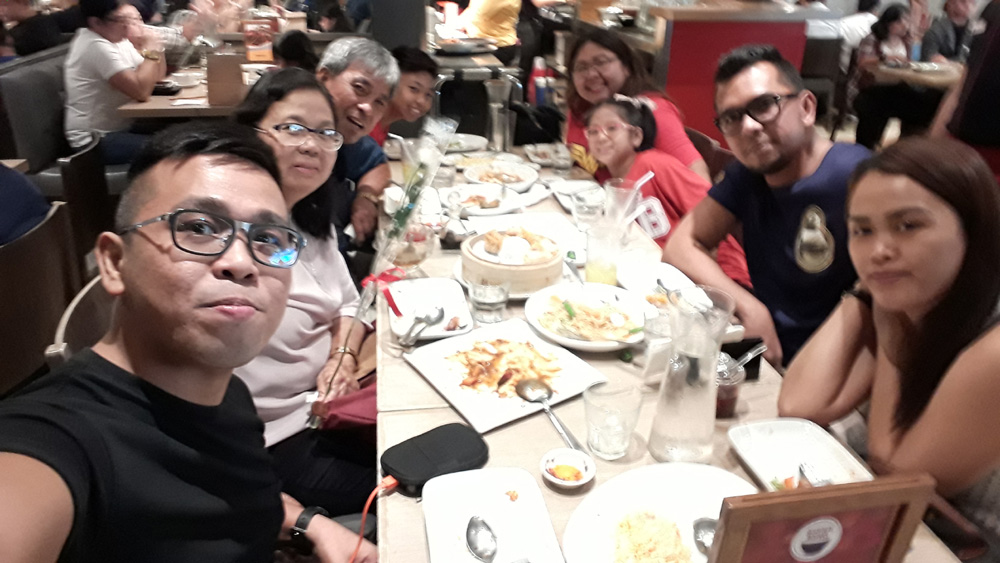 Mother's day lunch in Megamall