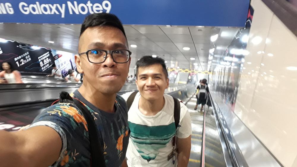 Going to Sun Yat-Sen Memorial Hall