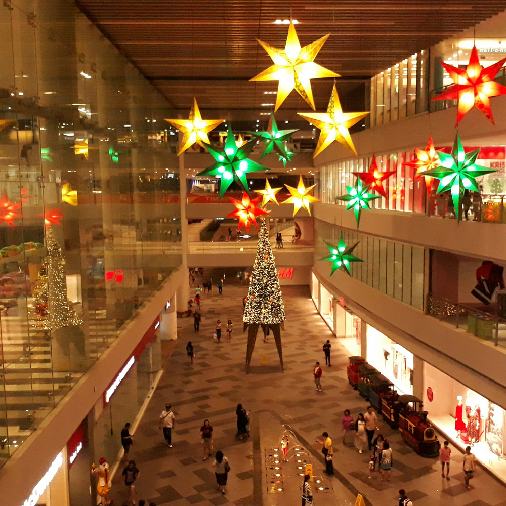 Ayala Malls Circuit's Christmas decoration