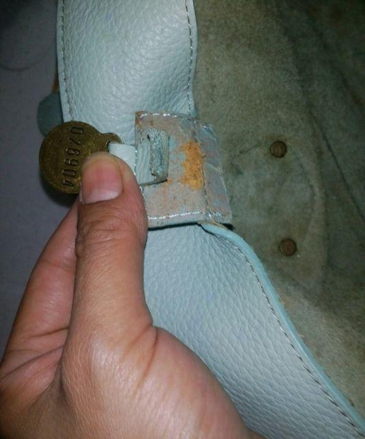 Mulberry Blenheim bag fake serial number 026904