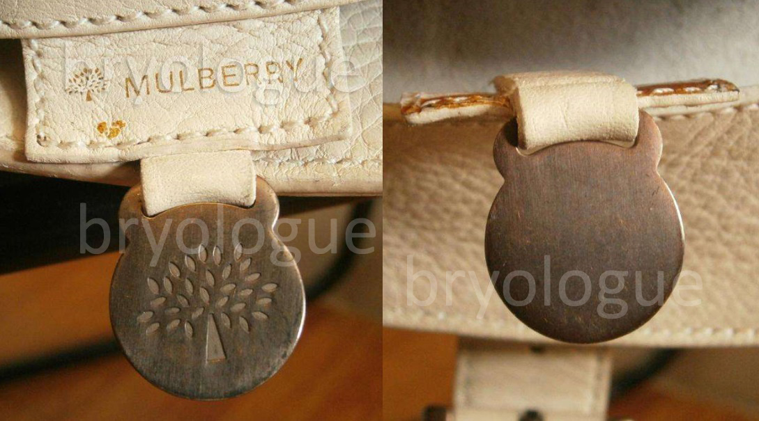 Mulberry Blenheim with a blank fob