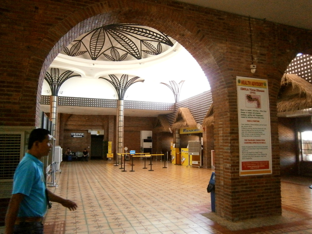 Inside Laoag International Airport