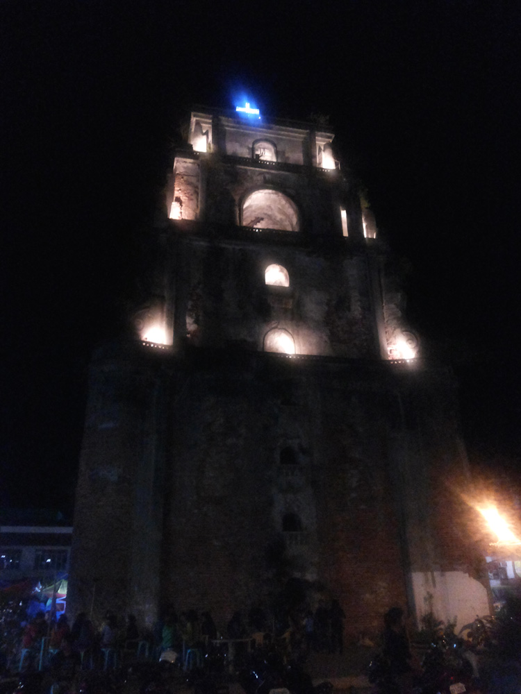 Laoag City's Sinking Bell Tower