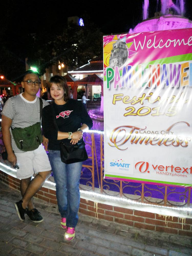 Picture with Tita Doris