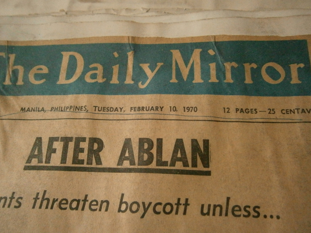 This newspaper is an oldie