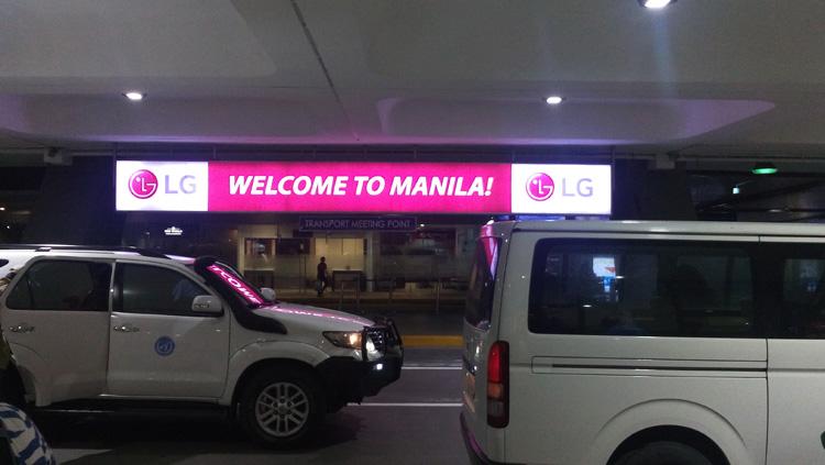 Back in Manila