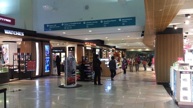 Lotte Duty Free inside Guam's Airport