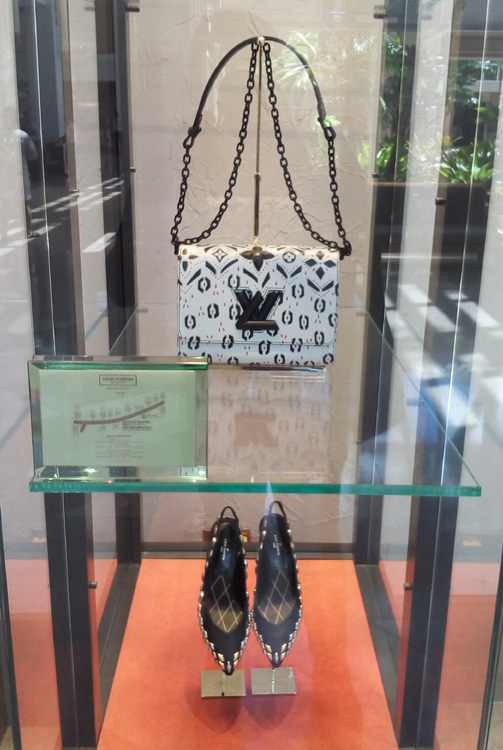 Sometimes, I just stop in front of this LV display case
