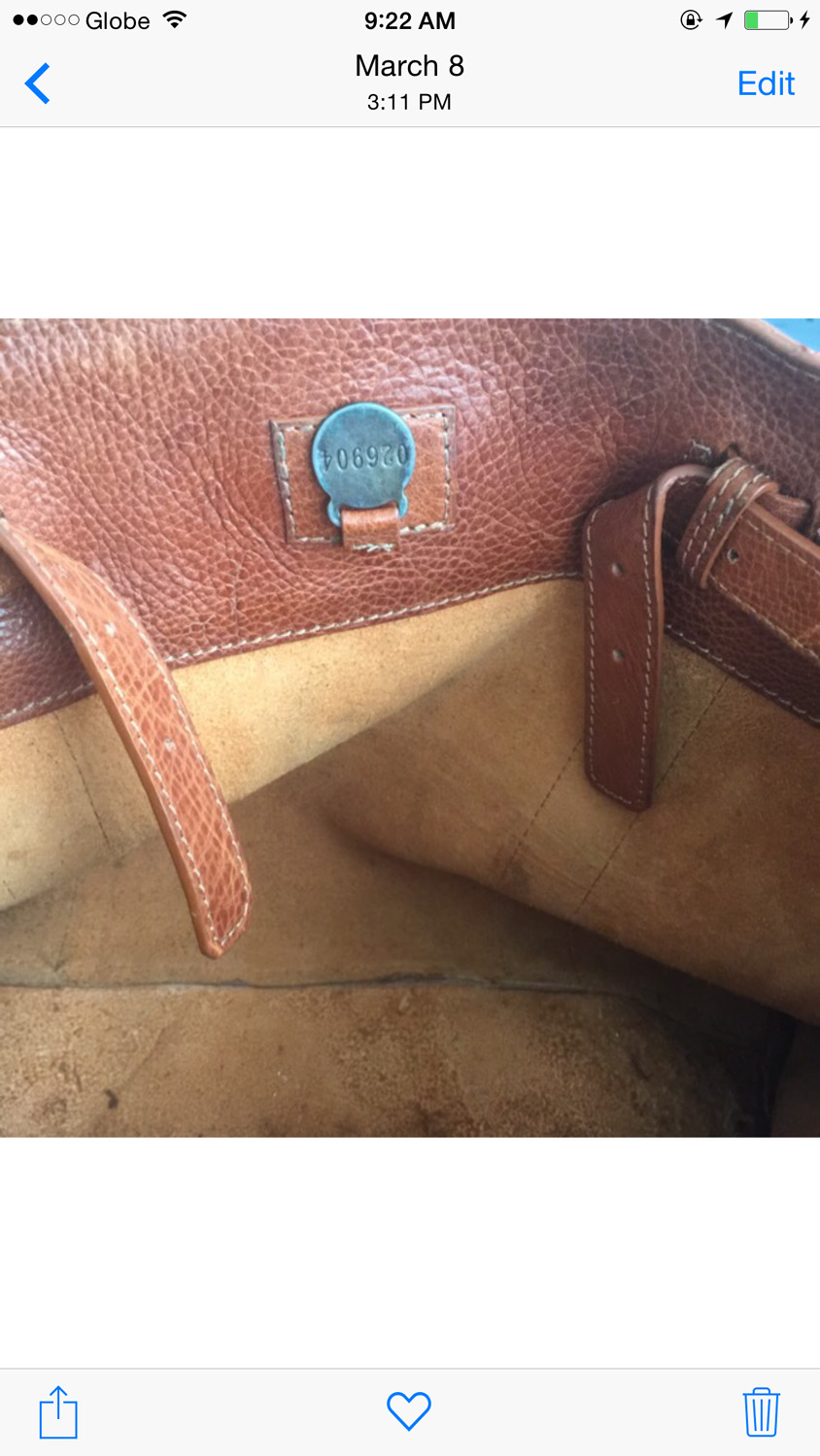 Fake Mulberry serial number, the infamous 026904