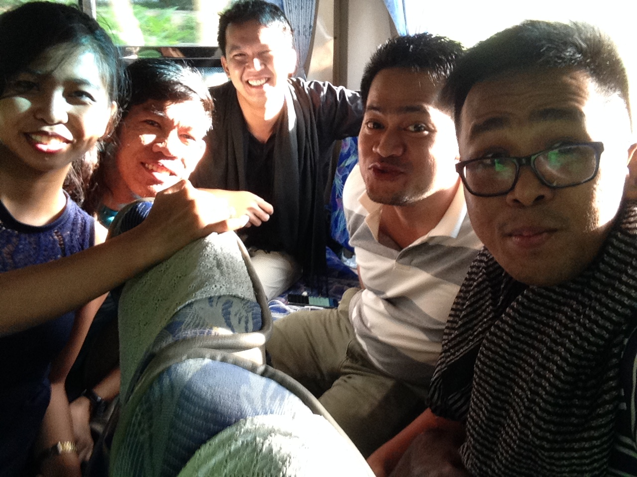 Bus back to Bangkok