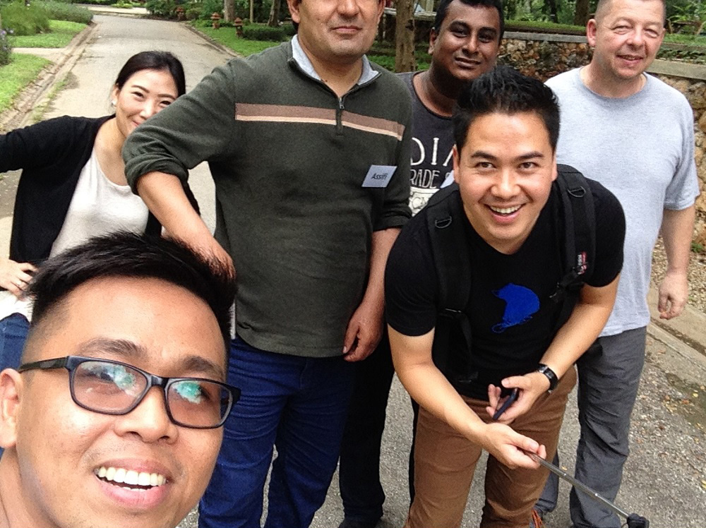 My teammates for two weeks: Philippines, Thailand, Afghanistan, Sri Lanka, Myanmar and Switzerland