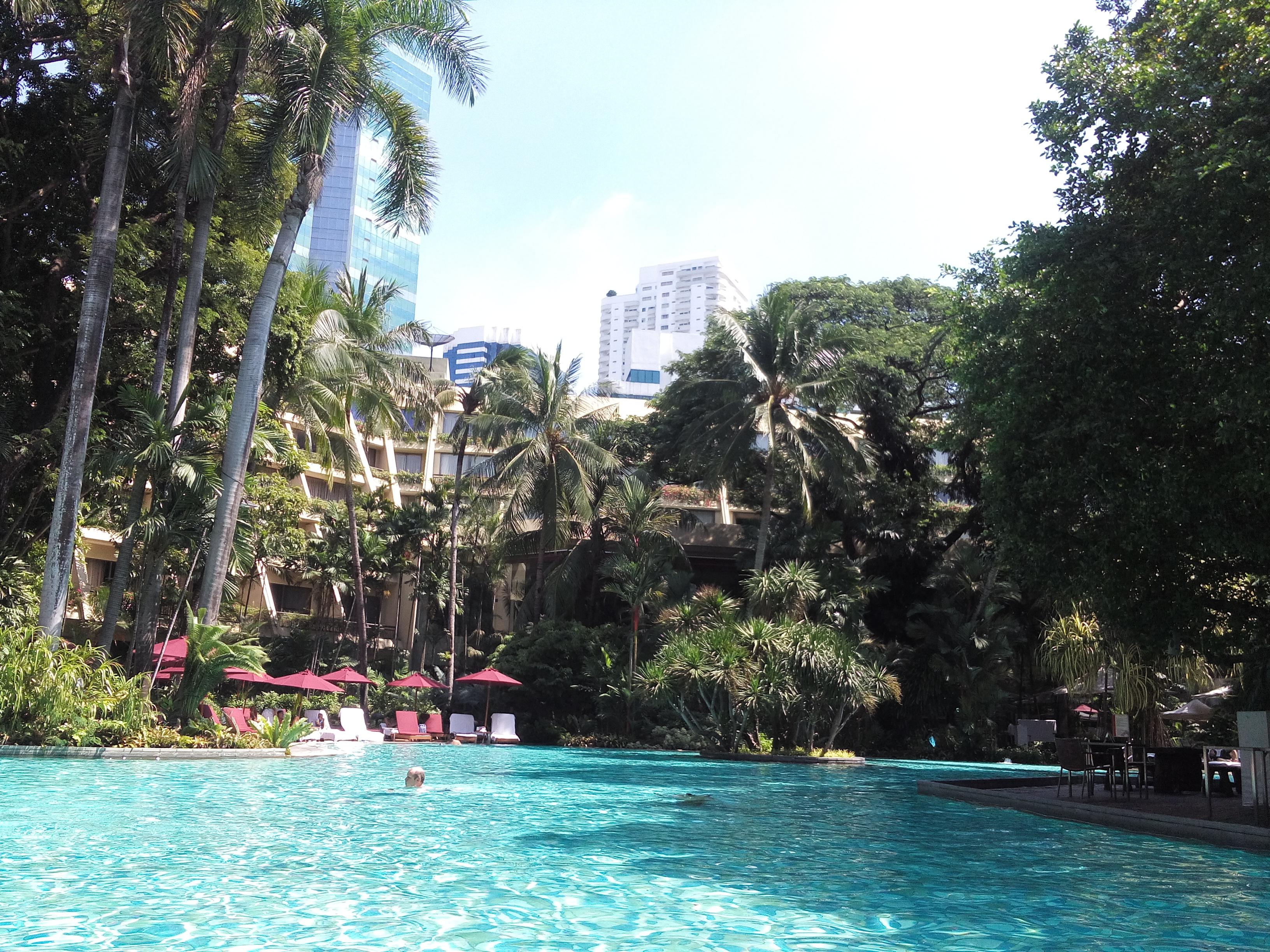 The pool at Swissôtel Nai Lert Park