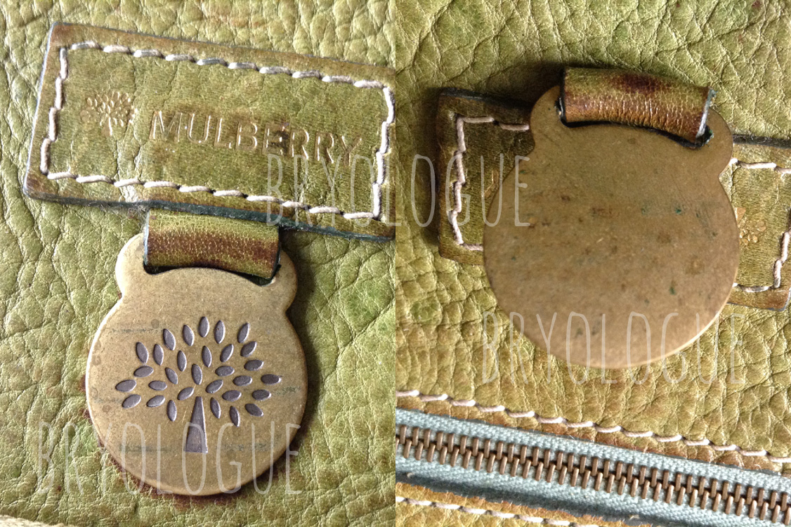 Mulberry coin fob and no serial number - Authentic Mulberry bag