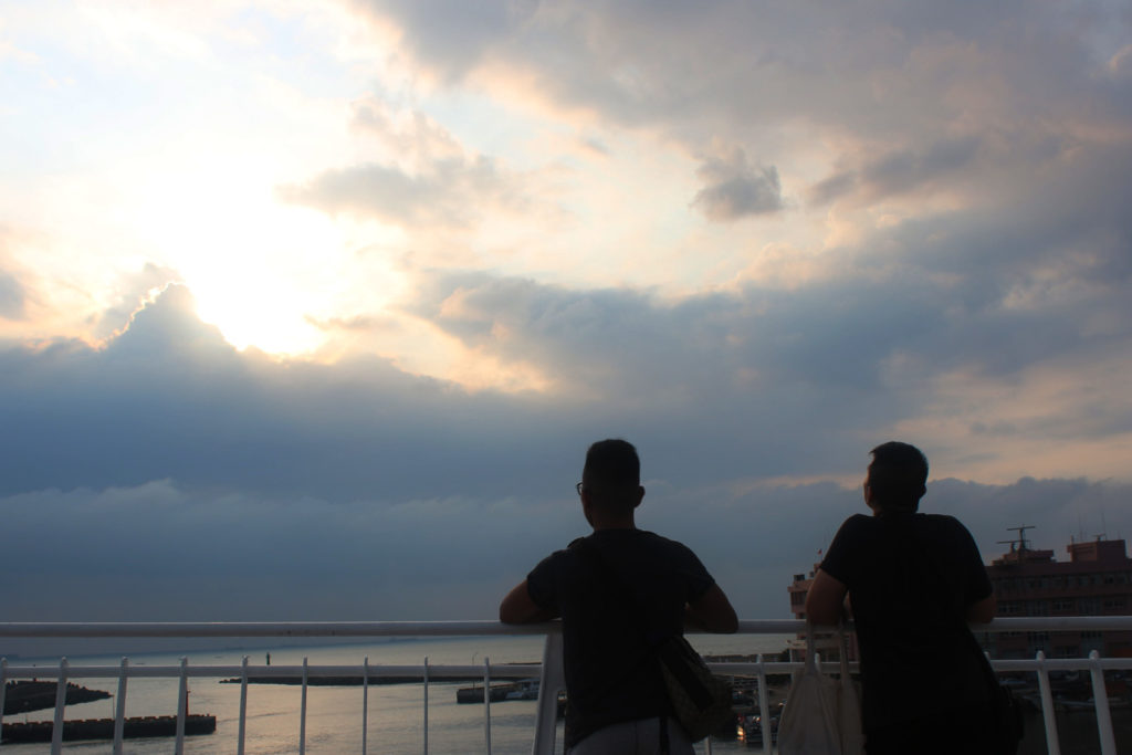 021 Silhouetted against the sunset