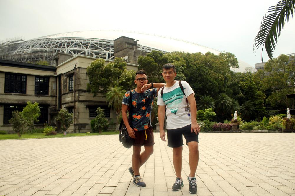 At Songshan Creative and Cultural Park