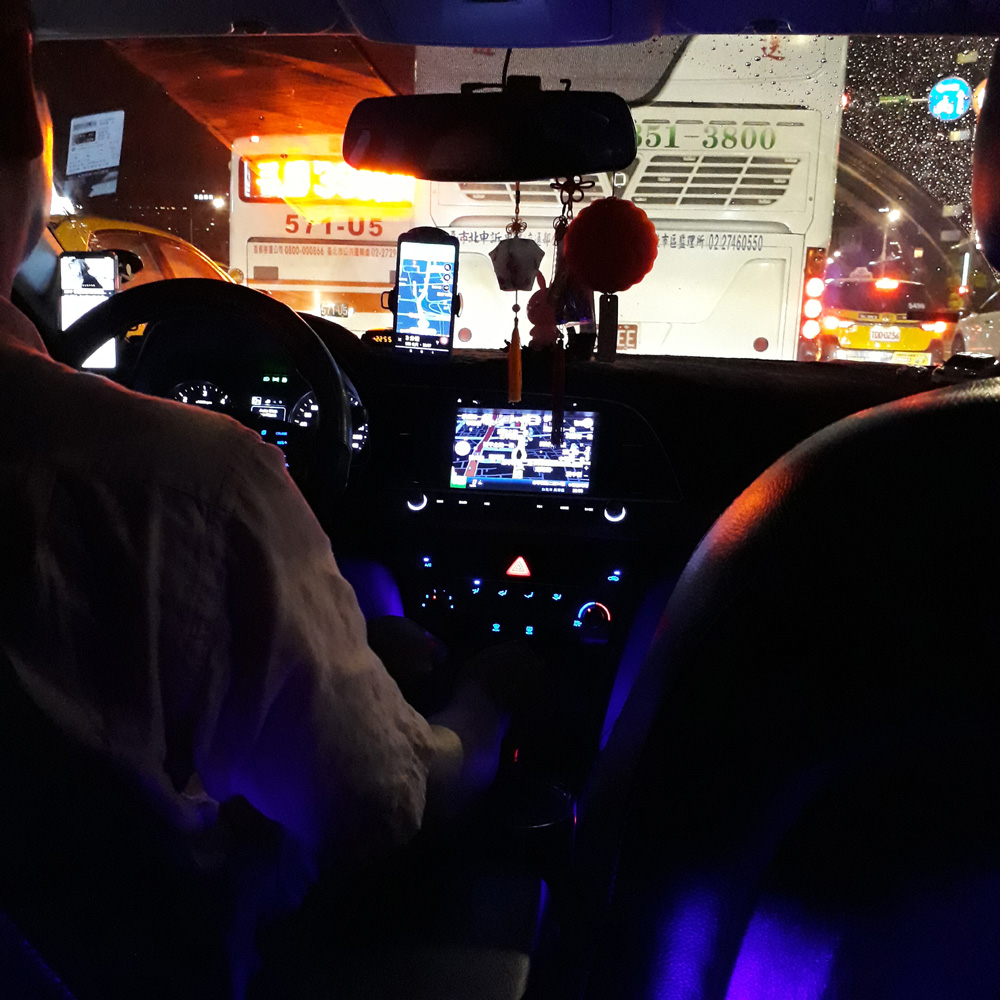 026 Our Uber ride to Taipei Main Station