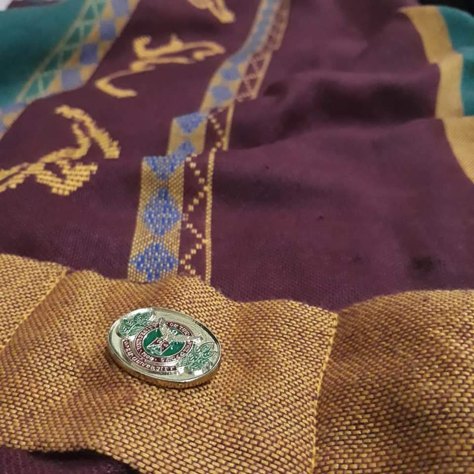 My beloved Sablay with the commemorative pin