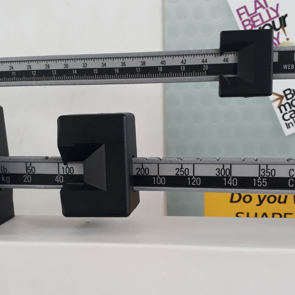 Officially entered normal BMI last August